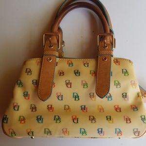 Dooney and Burke satchel purse